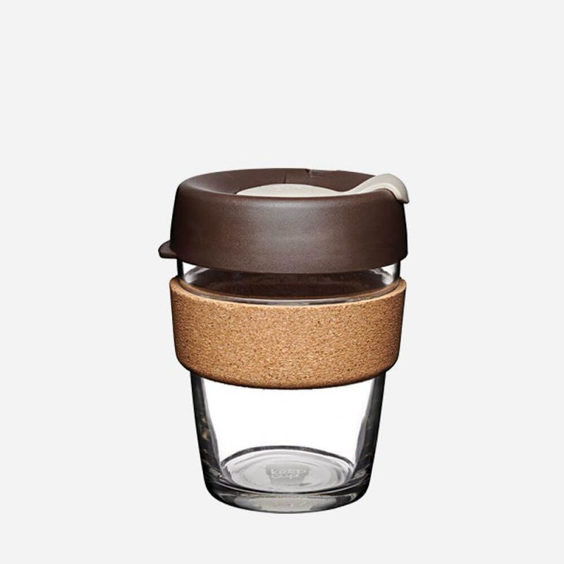 Кружка KeepCup Brew - Cork Edition 12oz (340мл) Almond