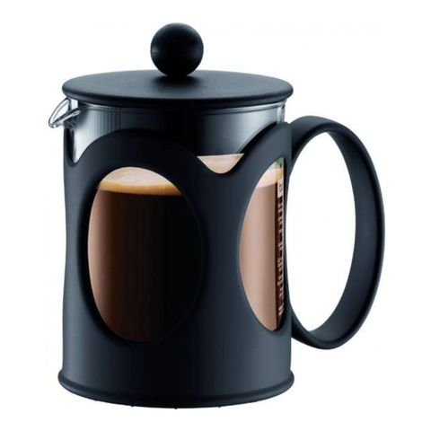 Кофейник френч-пресс Bodum Kenya New, 0,5 л, цвет черный