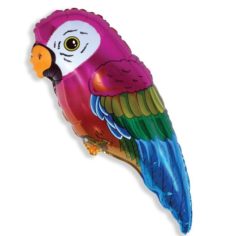 Фольгированный шар «Попугай», 89см