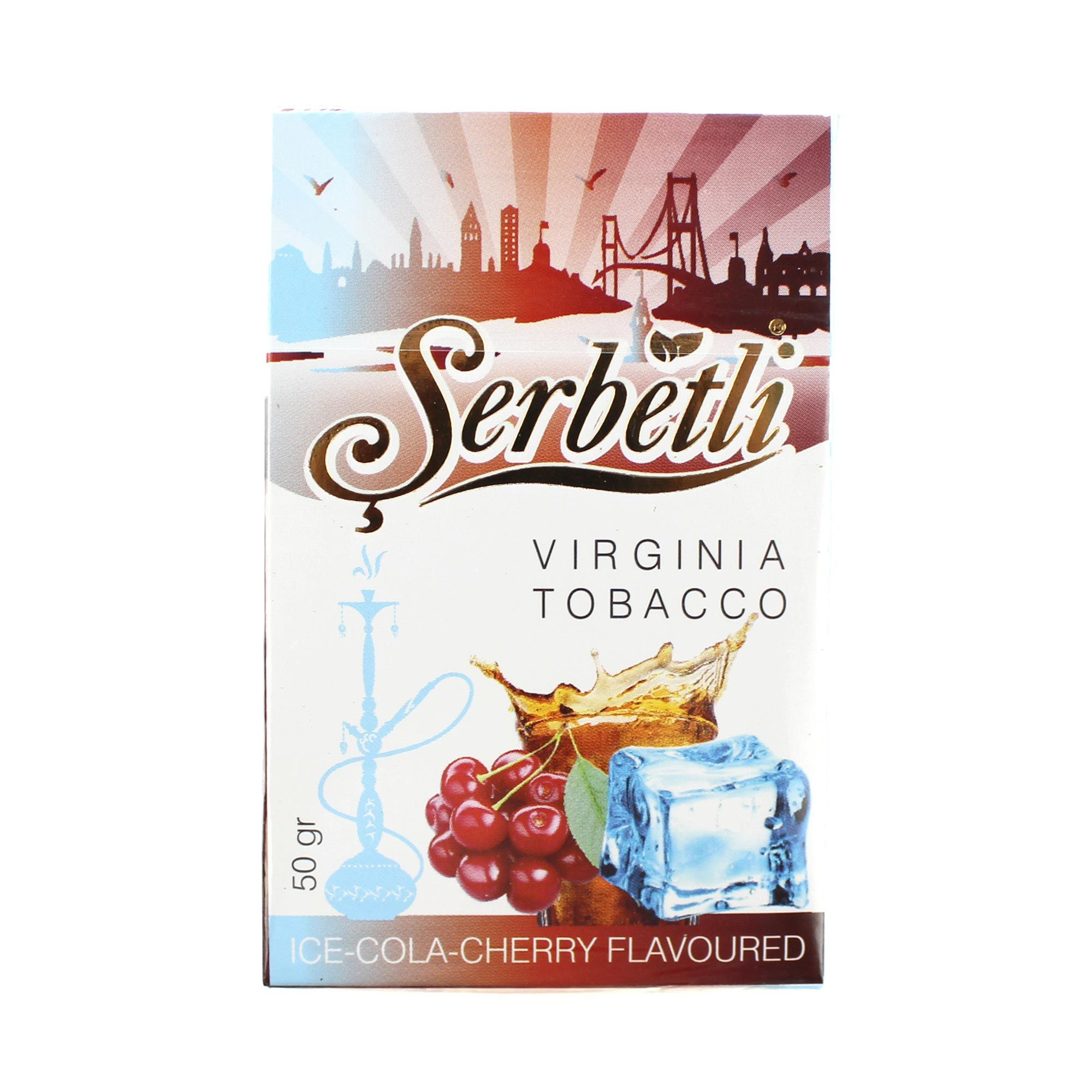 Табак для кальяна Serbetli Ice Cherry Cola 50 гр.