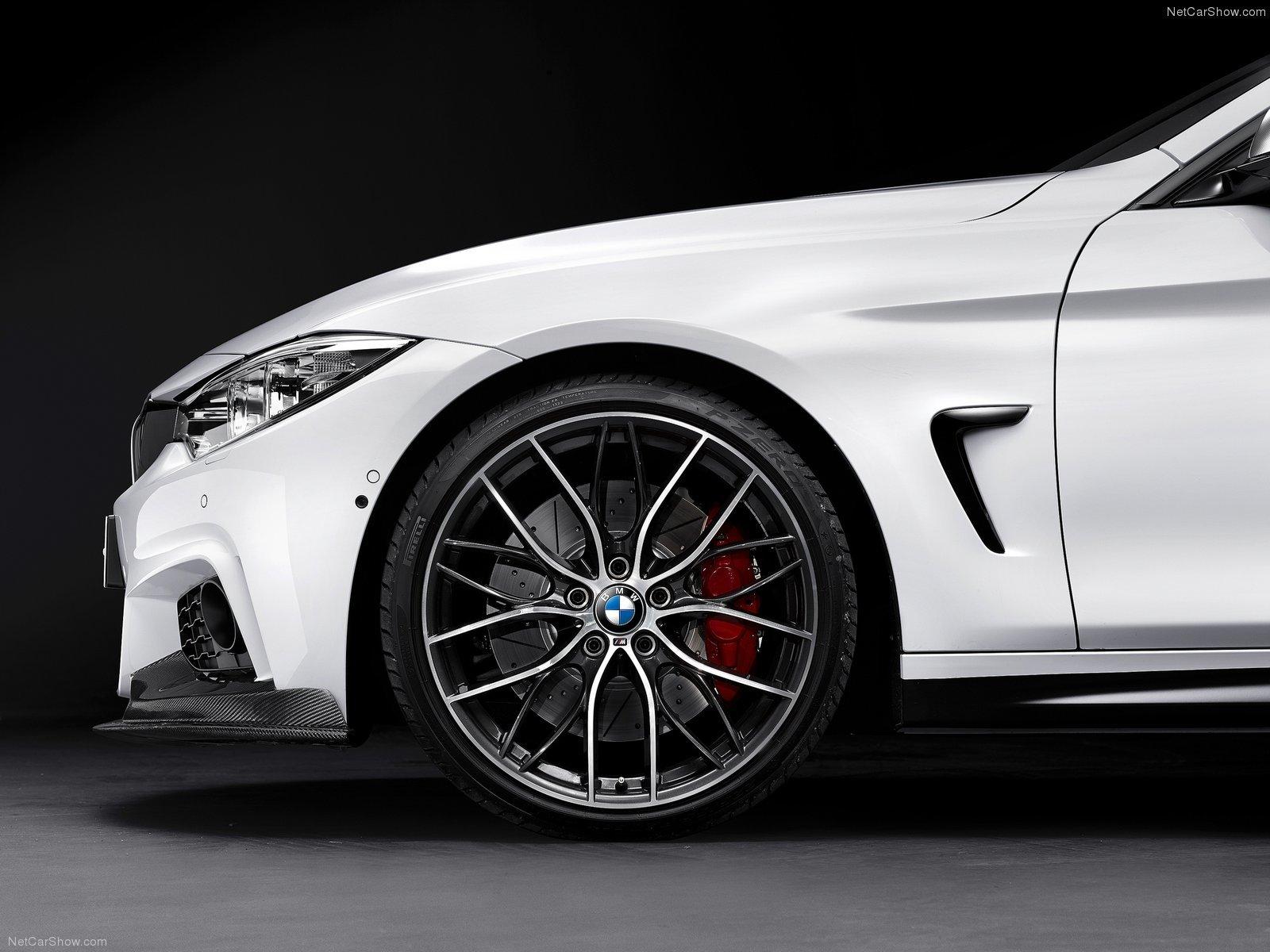 Карбоновые воздухозаборники крыльев Performance Style для BMW 4er