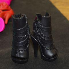 Обувь для кукол Монстр Хай и Эвер Афтер Хай (черные туфли)