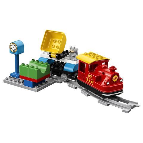 LEGO Duplo: Поезд на паровой тяге 10874 — Steam Train — Лего Дупло