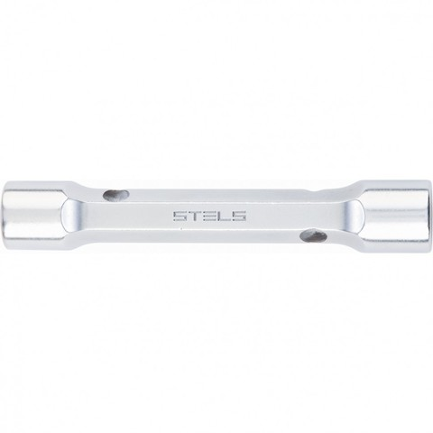 Ключ трубка торцевой усиленный, 8 х 10 мм, CrV Stels