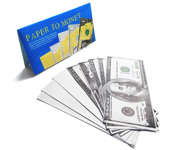 Фокус Peper to money