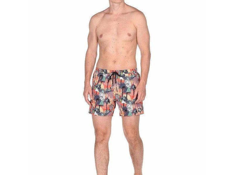 Мужские шорты пляжные разноцветные BIG TWO John frank JFSS18SW05