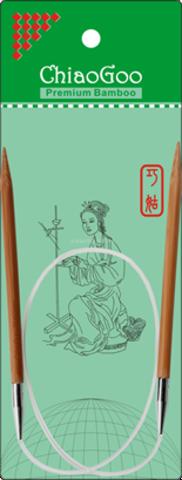 ChiaoGoo круговые бамбуковые 23 см