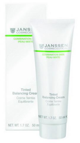 Балансирующий крем с тонирующим эффектом Janssen Tinted Balancing Cream, 50 мл.