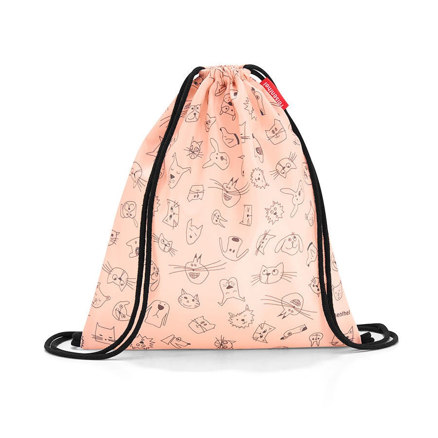 Детские сумки Мешок детский Mysac cats and dogs rose Reisenthel db85fdae481a9876f67a11094fb3e5b5.jpeg