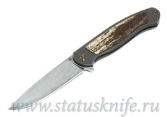 Нож Чебуркова Скаут Custom дамаск и кость жирафа