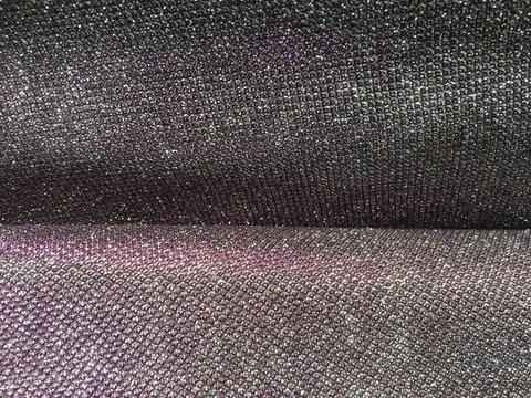 Бифлекс блестящий - серебро/ежевика