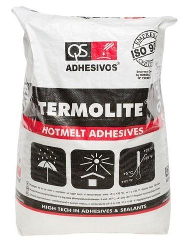 Клей-расплав для кромкооблицовочных станков QS ADHESIVOS TERMOLITE TE-60