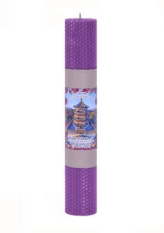 Свеча Императорский дворец фиолетовая 30см
