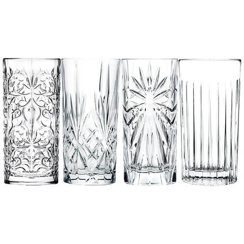 Набор стаканов для воды RCR Миксолоджи, 4 шт