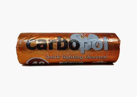 Древесный уголь Carbopol 40 мм