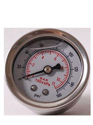Манометр с двойной шкалой BAR и PSI Fuel Pressure Gauge  Fuel manometer