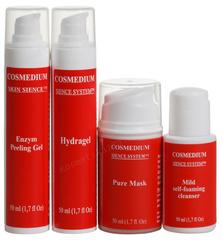 Набор 4 шага «Чистая кожа» (Cosmedium delicious | Delicious «Pure Skin»)