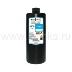 УФ - чернила STS для Agfa Jeti KM Cyan 1000 мл (UV LED)
