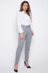 <p>Классические офисные брюки прямого силуэта. Удобная высокая посадка.<span>Длина по внутреннему шву - 77см</span></p>