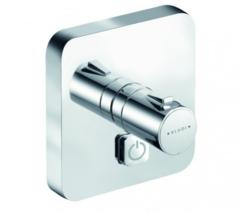 Термостат для душа встраиваемый на 1 потребителя Kludi Push 388030538 фото