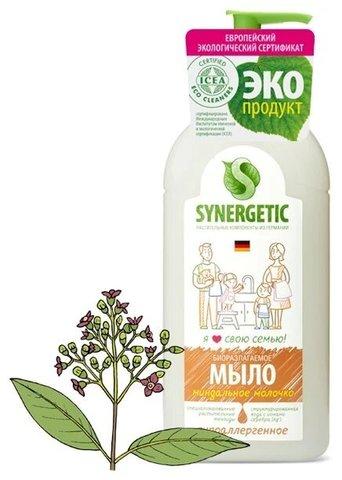 Synergetic жидкое мыло «Миндальное молочко»