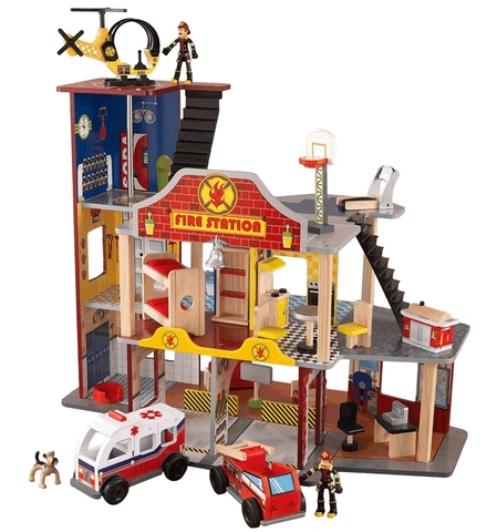 KidKraft Пожарно-спасательная станция - игровой набор для мальчиков 63214_KE