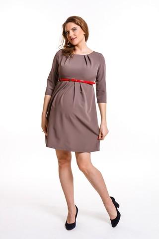 Платье для беременных 08292 капучино