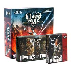 Blood Rage / Кровь и ярость + 2 дополнения