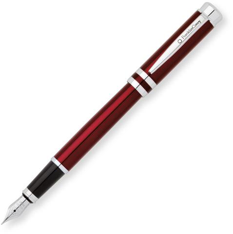 Перьевая ручка Franklin Covey Freemont  (FC0036-3MS) Red Chrome с пером M BL