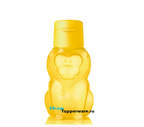 Бутылка Эко Львёнок (350мл) в желтом цвете