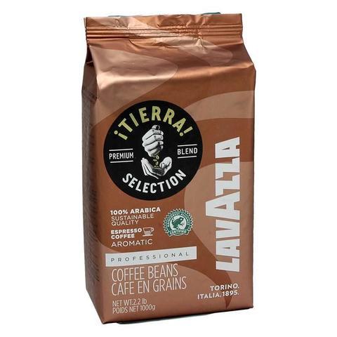 Кофе Lavazza Tierra Intenso кофе в зернах 1 кг