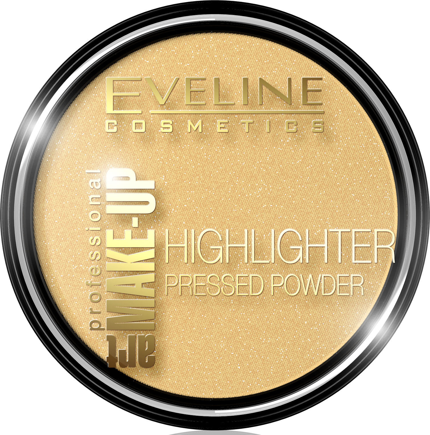 ART MAKE-UP PROFESSIONAL HIGHLIGHTER РАССВЕТЛЯЮЩАЯ ПУДРА ДЛЯ ЛИЦА И ТЕЛА - 55 GOLDEN