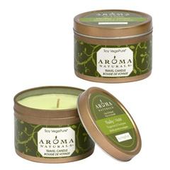 """Свеча из соевого воска """"Оживление"""" мята и эвкалипт, Aroma Naturals"""