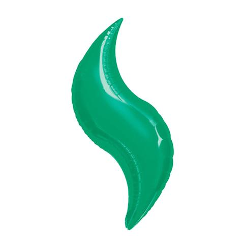 Шар-зигзаг зеленый, 49 см