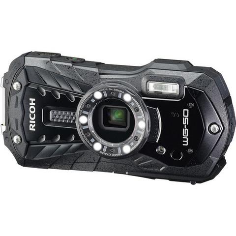 Водонепроницаемый фотоаппарат Ricoh WG-50 черный