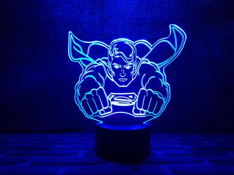 Лампа Супермен