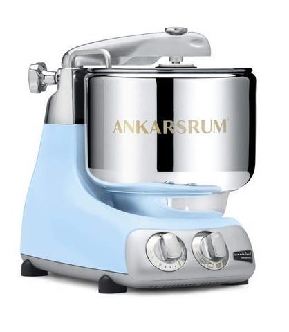 Тестомес Ankarsrum Assistent Original AKM6230 Pearl Blue - голубой перламутр, 2 чаши, 2300602