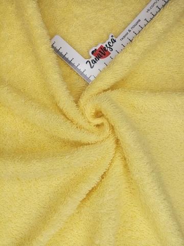 Махровое полотно Желтый