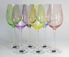 Набор из 6 бокалов для вина Viola Арлекино, 250 мл, фото 6
