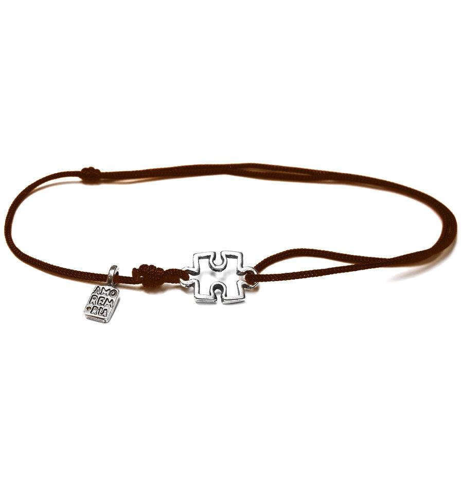 Puzzle Bracelet, sterling silver