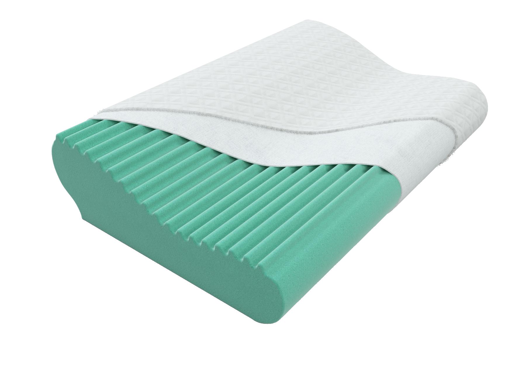 Подушки Brener Ортопедическая подушка Brener EcoGreen ecogreen_1_.png