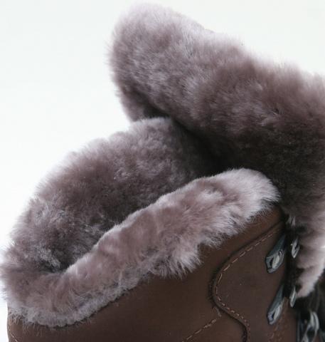 Ботинки туристические зимние «Трэвел-VIP» (натуральный мех) ХСН