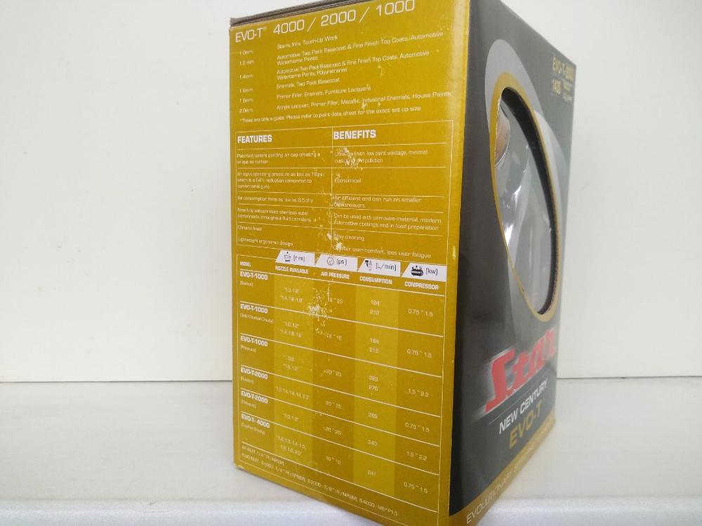 STAR EVO-T 2000, нижний бачок, дюза 1.4