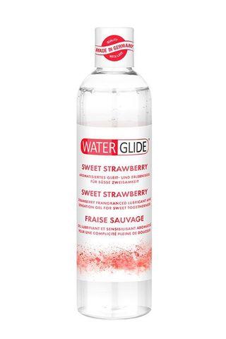 Лубрикант на водной основе с ароматом клубники SWEET STRAWBERRY - 300 мл.