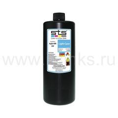 УФ - чернила STS для Agfa Jeti KM Light Cyan 1000 мл (UV LED)