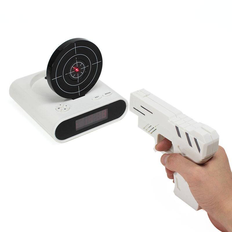 Товары для дома Будильник с мишенью Gun Alarm Clock gun_alarm.jpg