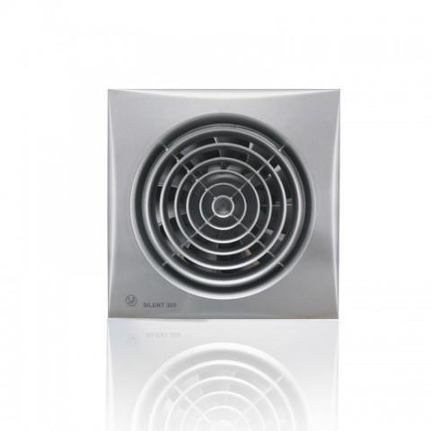 Накладной вентилятор Soler & Palau SILENT-300 CHZ SILVER (датчик влажности)