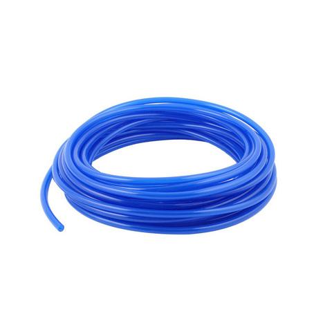 Трубка полиуретановая PU синяя 10х6,5 мм, 1 метр