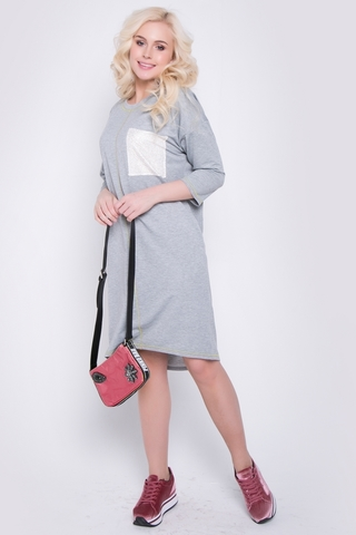 """<p>Платье в стиле casual - прекрасное решение для повседневной жизни. В этом платье Вы будете выглядеть на """"высшем уровне"""" и чувствовать себя очень комфортно.</p>"""