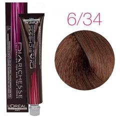 L'Oreal Professionnel Dia Richesse 6.34 (Медовый коричневый) - Краска для волос